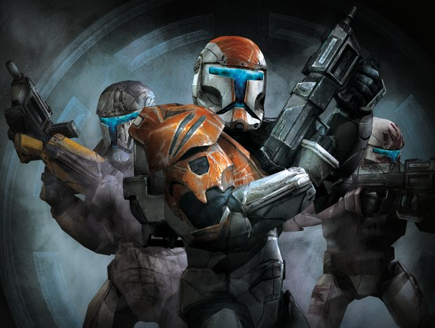The one that really got me excited was Star Wars Republic Commando.