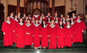SHU's Liturgical Choir at Bishop Lori's Anniversary Mass