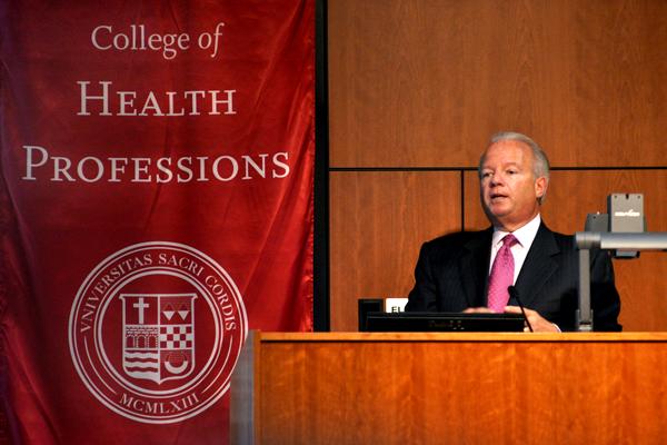 Greenwich Hospital President Frank Corvino