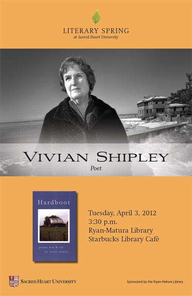 Vivian Shipley, Poet