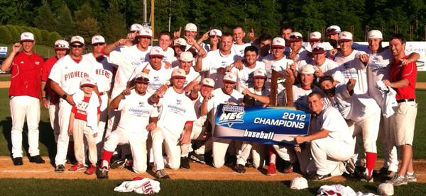 SHU Baseball Wins 2012 NEC Championship