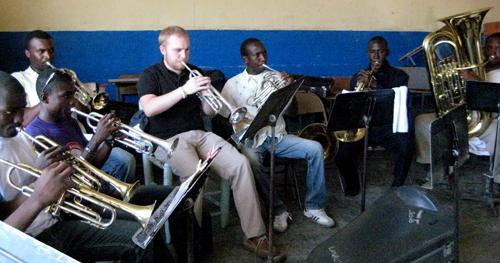 Band trip to Haiti