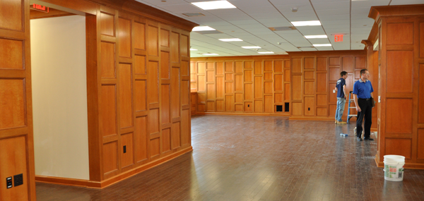 New renovation of the former faculty lounge and bookstore