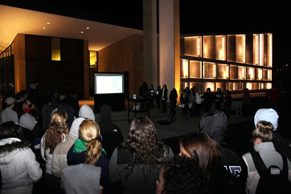 Hurricane Sandy Vigil