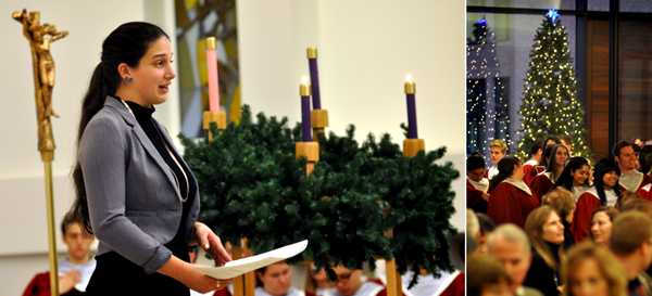 Advent Wreath Lighting Service