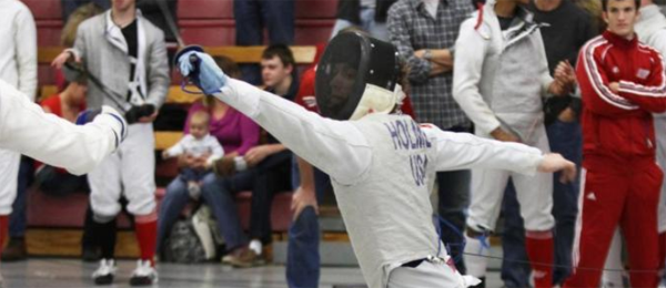 Stuart Holmes, NFC Fencer of the Year