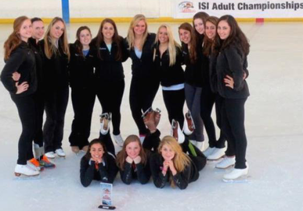 Club Sports Figure Skating Team