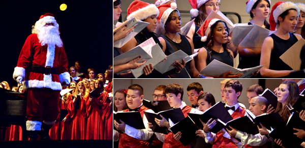 Choral Christmas Extravaganza - photos by Liz Mastrocola '15