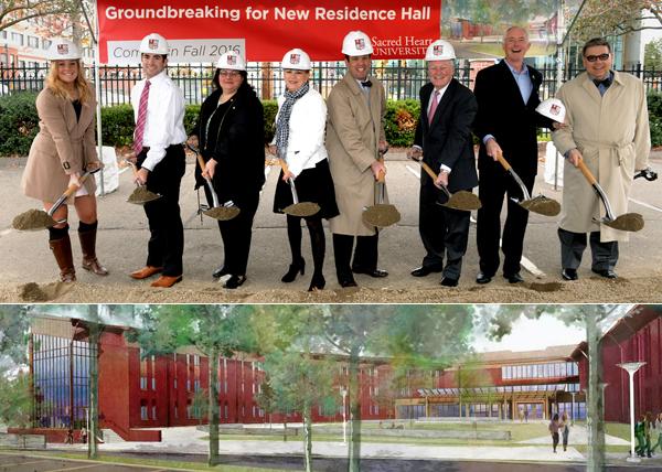 Residence Hall Groundbreaking