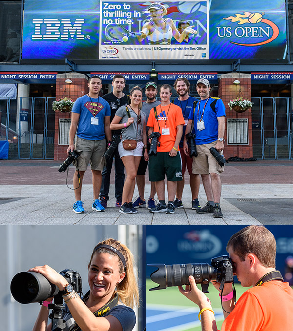 U.S. Open Photo Workshop