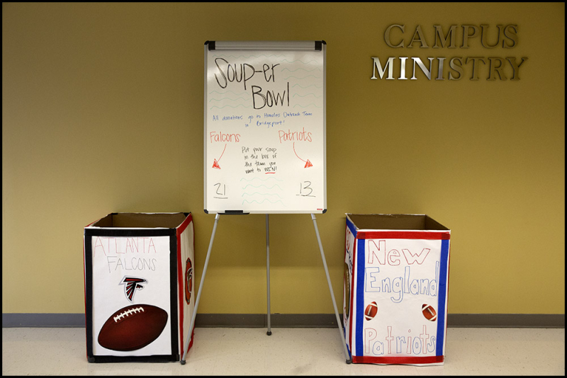 Campus Ministry Soup-er Bowl