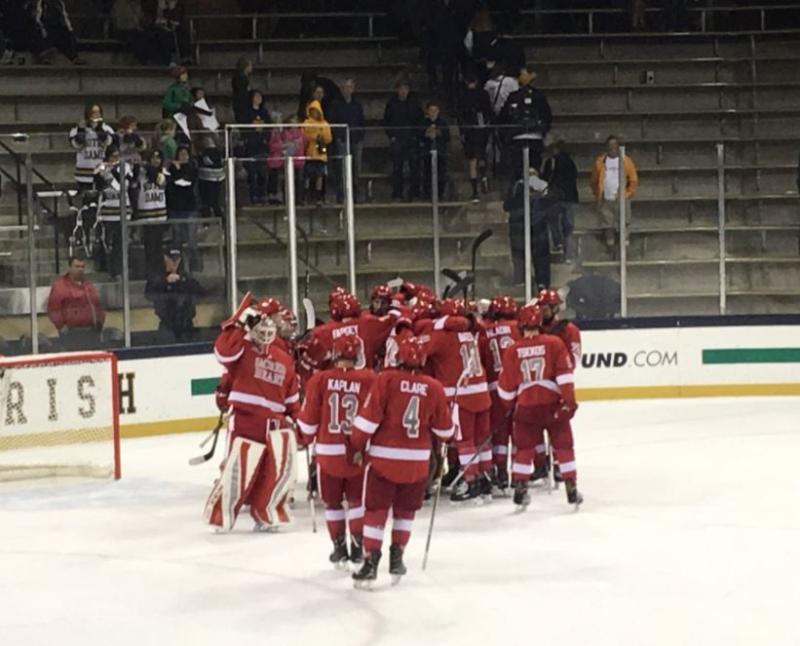 Men's Hockey vs Notre Dame