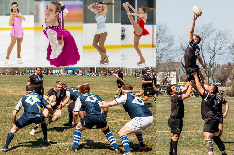 Club Figure Skating and Club Rugby