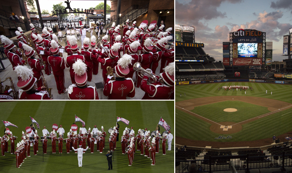 Marching Band at Citi Field