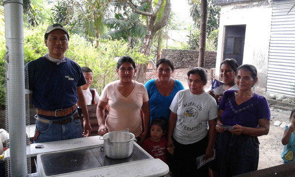 Stove Donation in Guatemala