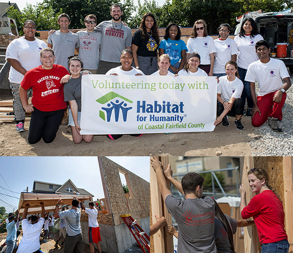 Habitat Wall Raising