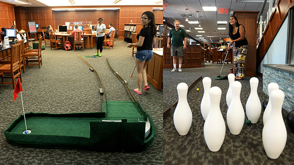 Library Mini-Golf