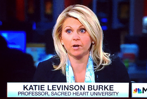 Katie Burke on MSNBC's Morning Joe