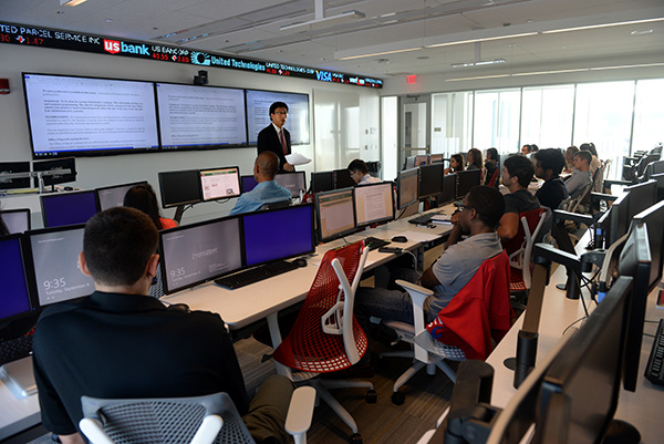 MSFIM class in the Finance Center