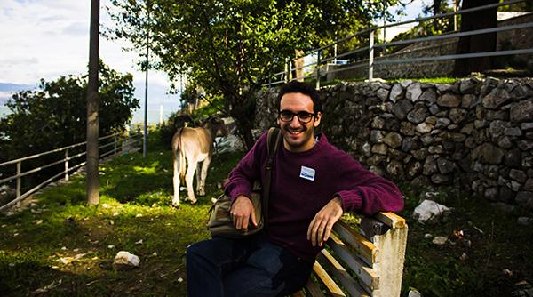Fulbright Scholar Chris Mindardi '15 in Albania