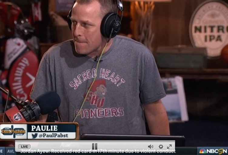 Professor Paul Pabst on the Dan Patrick Show
