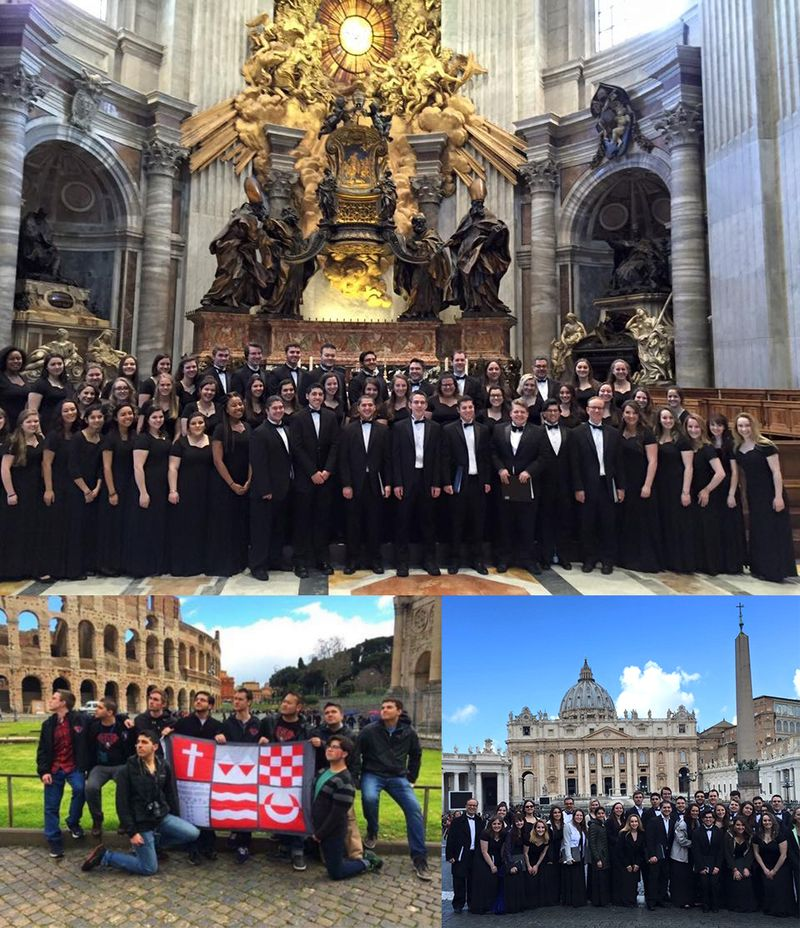 Choir Performs in Rome