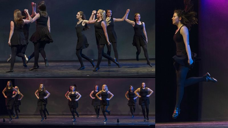 Irish Step Dance Ensemble's St. Patrick's Day Performance