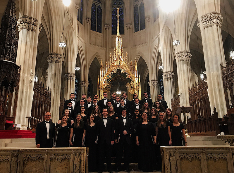Choir at St. Patrick's Cathedral