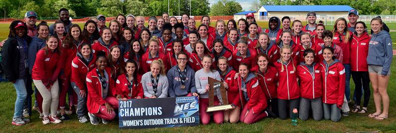 Women's Track wins NEC Championship