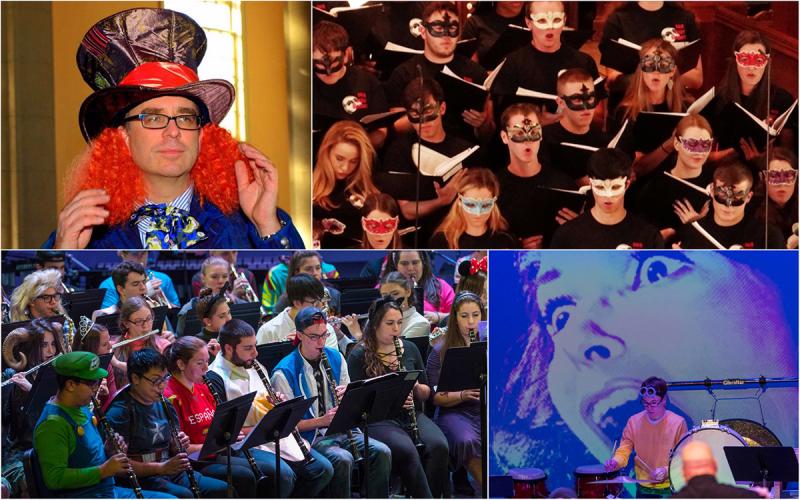 Choir and Band Halloween