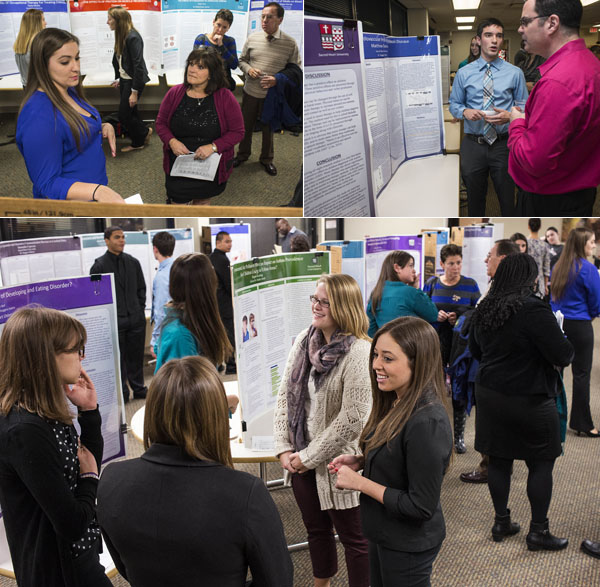 Health Science Department's Senior Capstone Poster Session