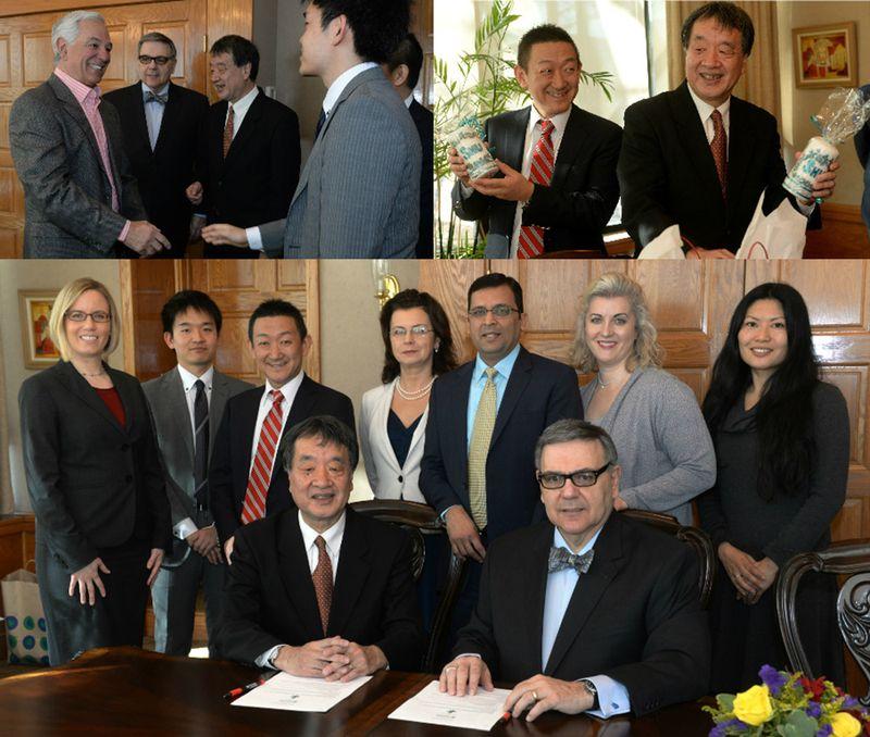 Kyoei University Memorandum of Understanding