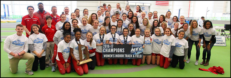 Women's Track & Field NEC Championship 2017