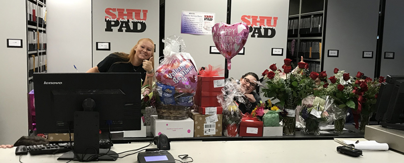 SHU Pad on Valentine's Day