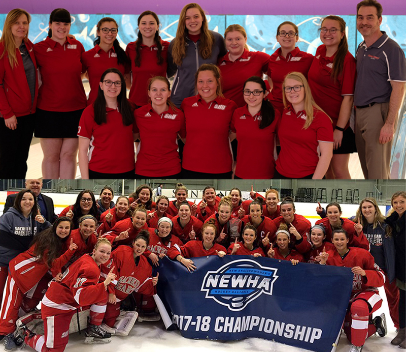 Bowling and Women's Hockey Teams