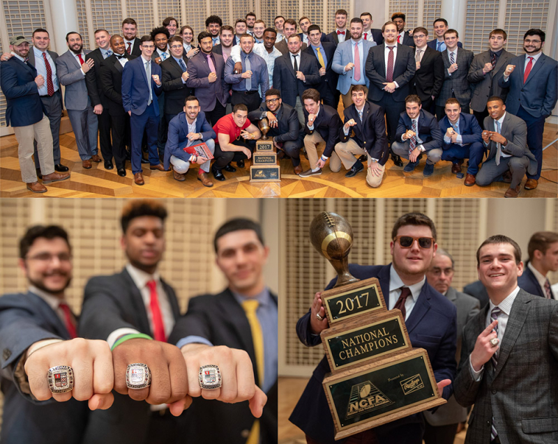 Club Football Ring Ceremony