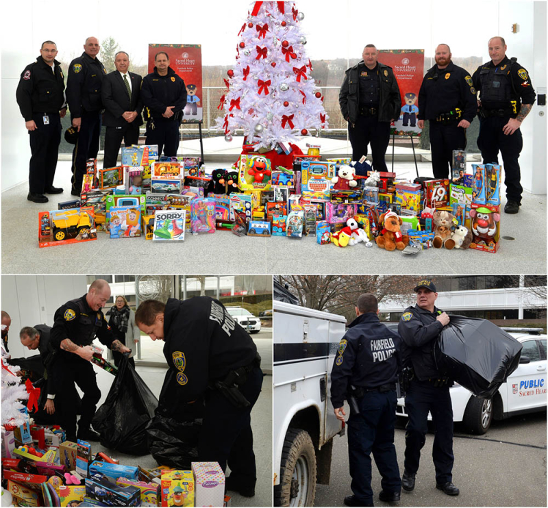 Toy Drive with Fairfield PD