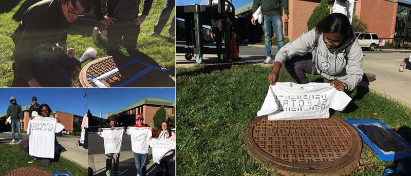 Manhole T-shirt Printing