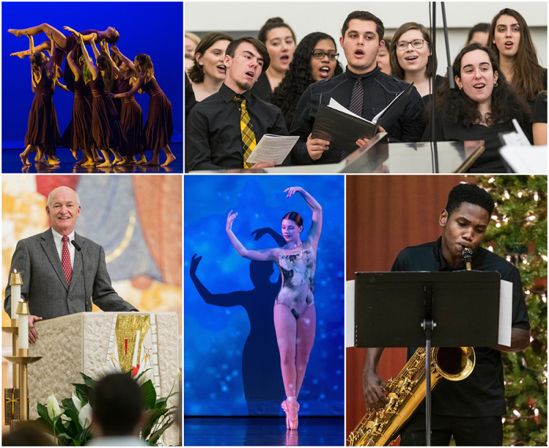 SHU Dance Company  Lessons and Carols and Chamber Ensembles concert