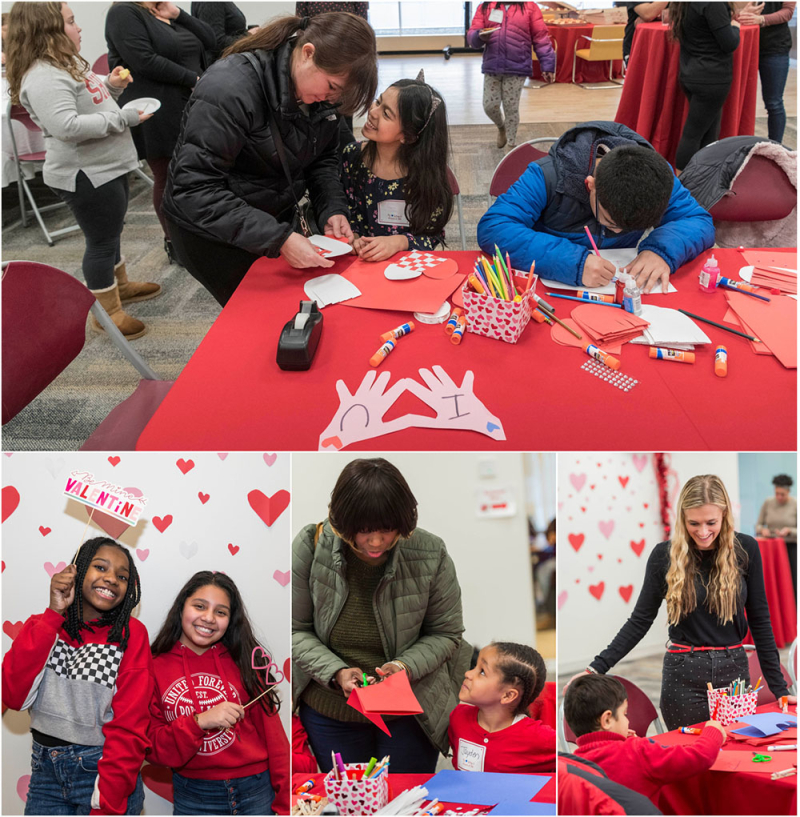 Horizons Valentine's Day Re-Enrollment Party
