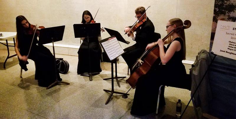 Orchestra at NHSO