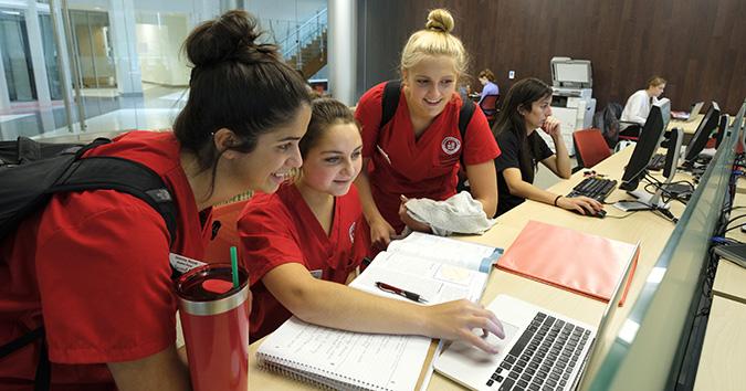 College of Nursing Students