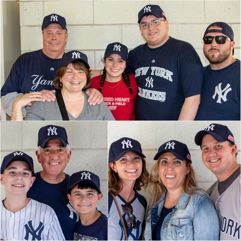 SHU at Yankee Stadium
